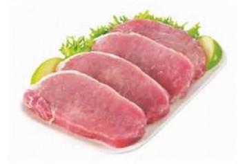 10lb Boneless pork loin steaks